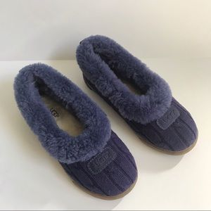 Ugg Rylan knit shearling slip on slipper shoes